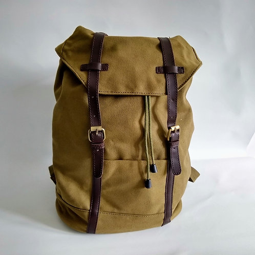 Canvas Ruck Sacs.