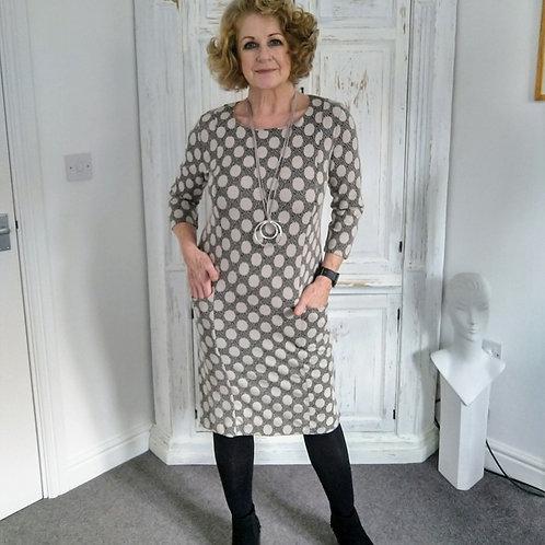 Pomodoro Big Spot Dress