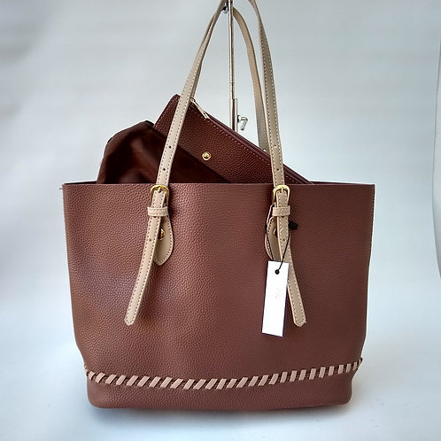 Large Shopper with bag inside.