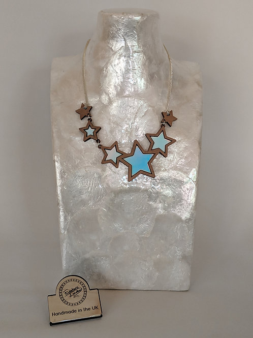 Esoteric Multi Star Necklace