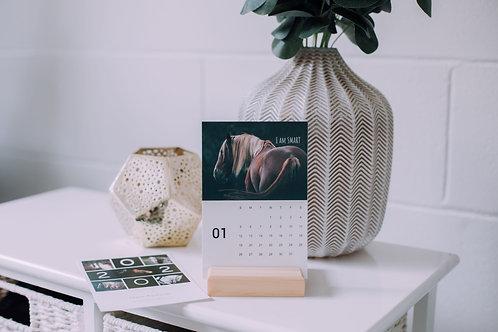 2021 Equine Desk Calendar
