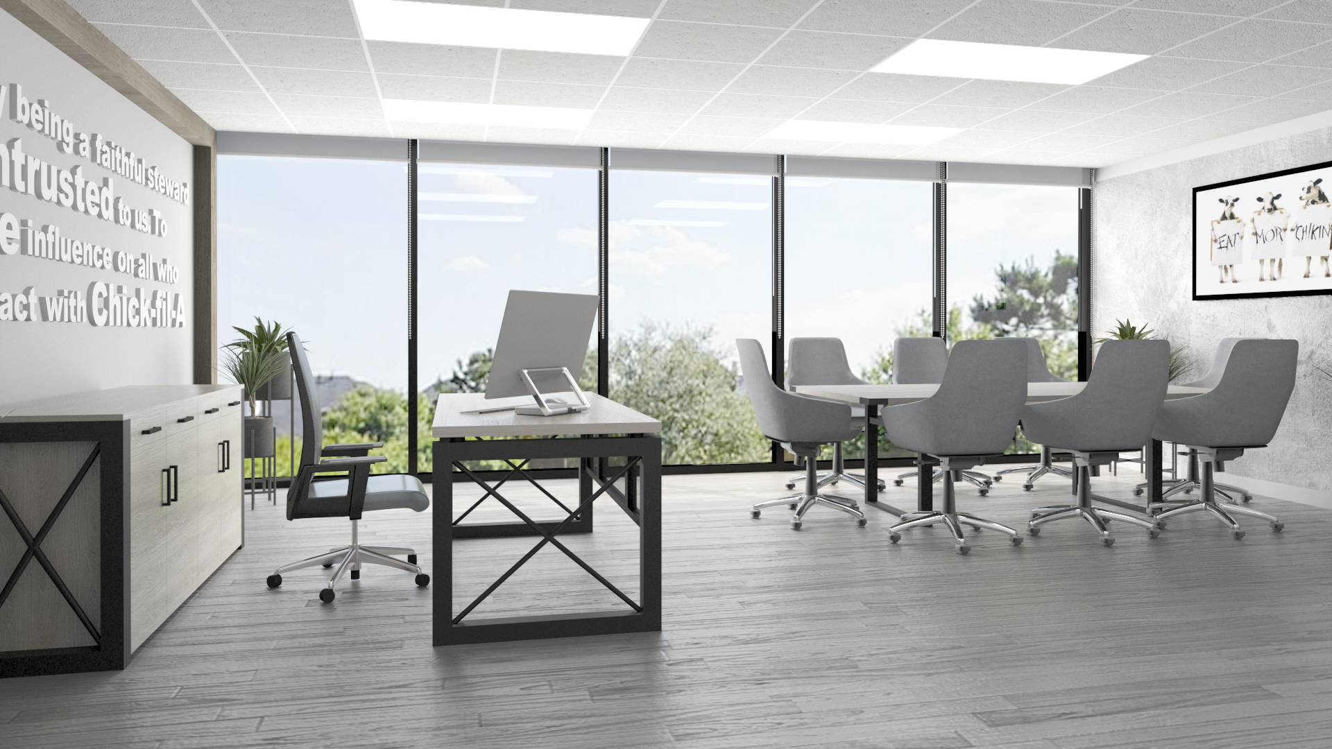 CONFERENCE ROOM - OFFICE AREA 03