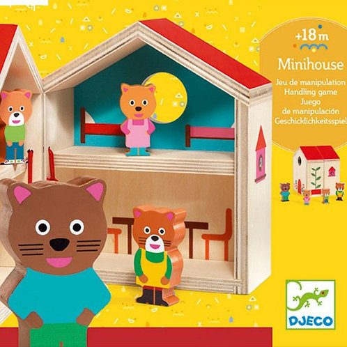 Djeco - Early learning minihouse