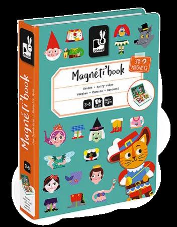 Janod  - Fairy tales - Match Magneti'book