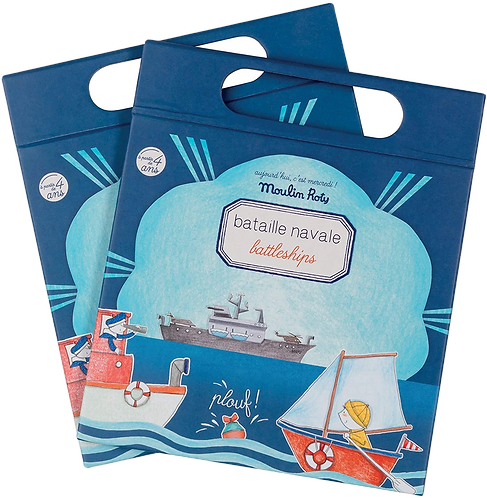 Moulin Roty - Travel magnetic battleship game