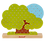 Thumbnail: JANOD - Lace-up tree - Wooden toy