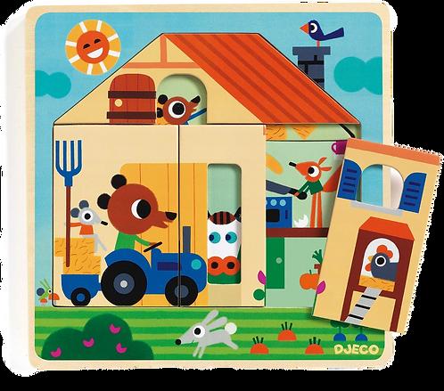 Djeco - Wooden Puzzles Chez Gaby