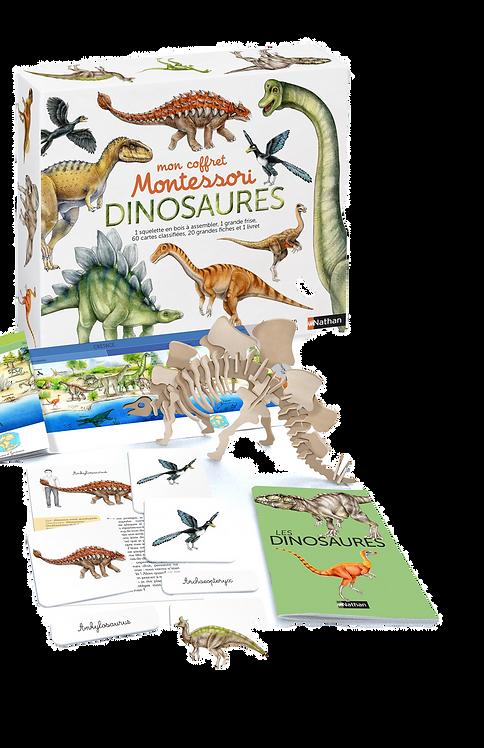 Nathan- Coffret Montessori dinosaures