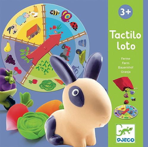 Djeco-Farm tactilo loto