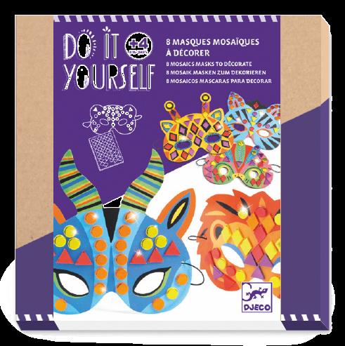 Djeco - DIY Jungle animal masks