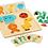 Thumbnail: Djeco - Geobasic wooden magnetic puzzle