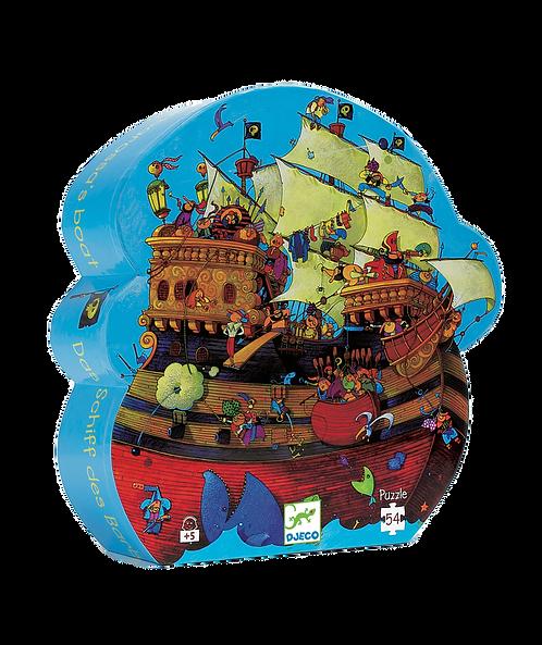 Djeco -Silhouette Barbarossa's Boat