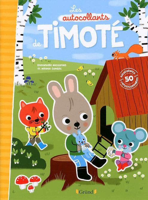 Grund - Autocollants de Timoté