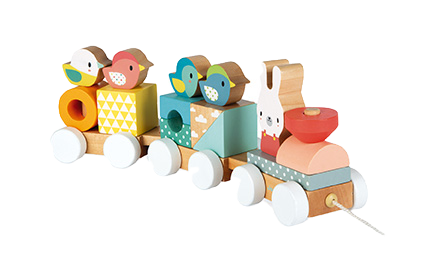 JANOD - Pure wooden train - Wooden toy