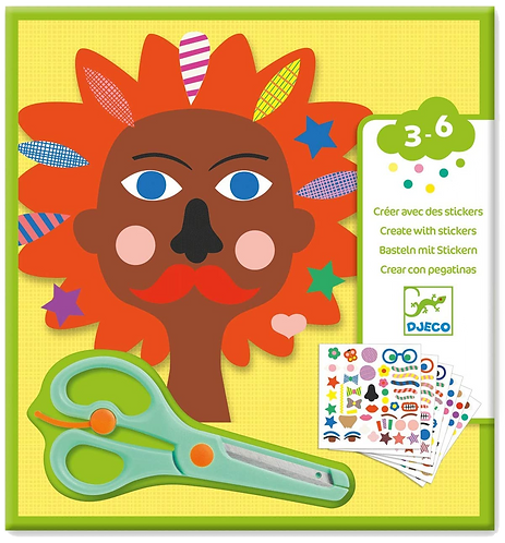 Djeco - PG Sticker kits Hairdressers