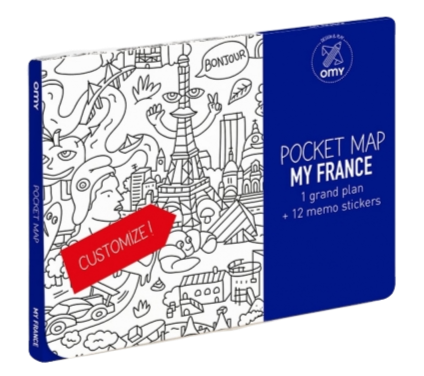 Omy - Pocket Map - My France