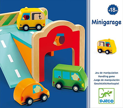 Djeco - Early learning Minigarage