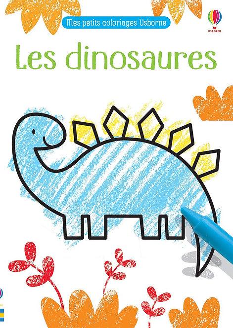 Usborne - Mes petits coloriages - Les dinosaures