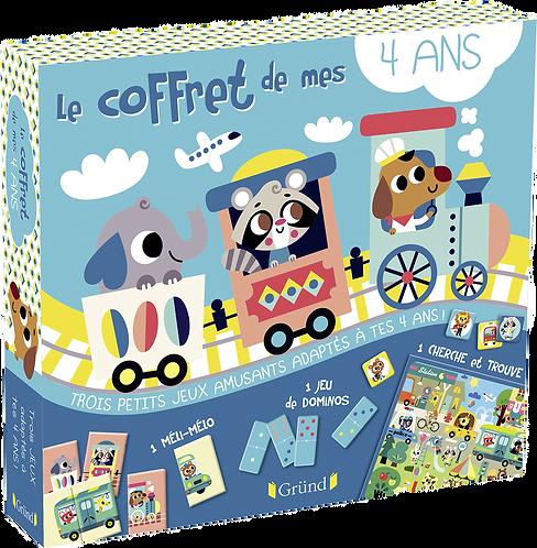 Grund - Coffret de mes 4 ans in French