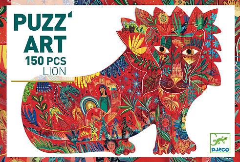Djeco - Lion Puzz'art