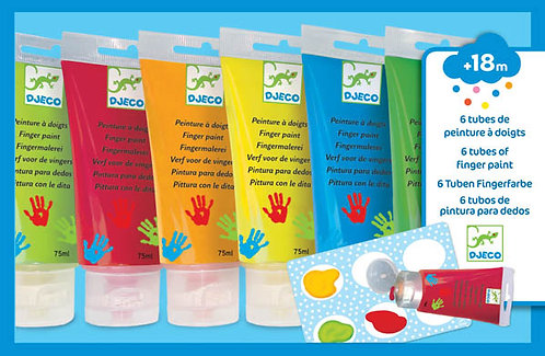 Djeco - Finger Paints Novelty