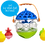 Thumbnail: Lalaboom - 3-in-1 Infant Activity Bath toy and Ball