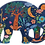 Thumbnail: Djeco - Elephant 150 pieces