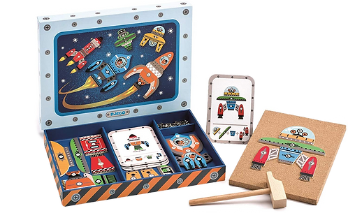 Djeco -  Tap Tap Game Space
