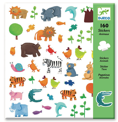 Djeco - PG stickers animals