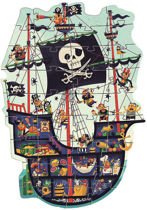 Djeco - Giant The pirate ship