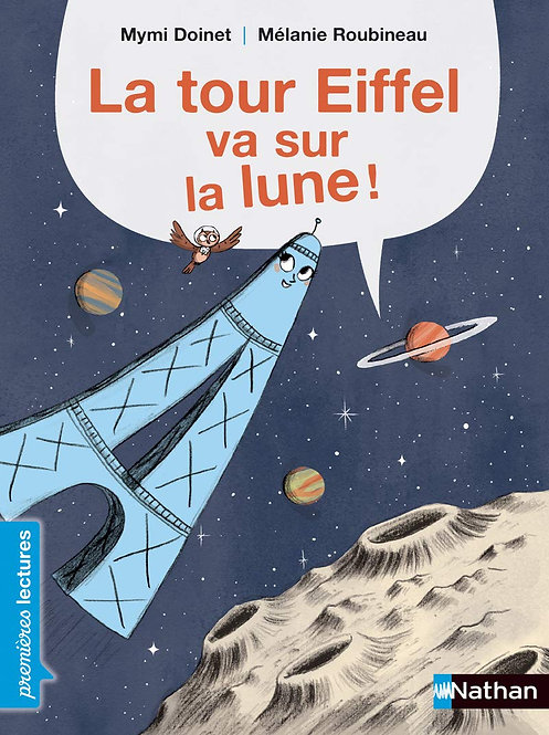 Nathan - Tour Eiffel sur la lune