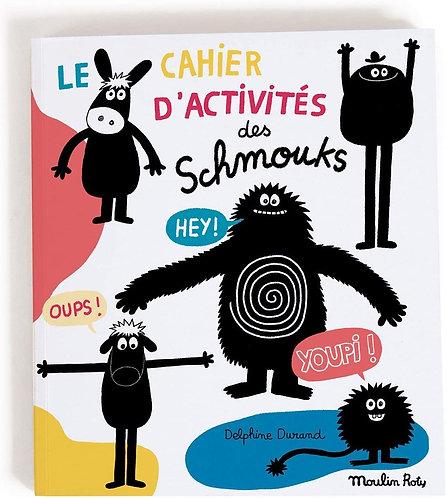 "Moulin Roty - Activity book ""Les schmouks"""