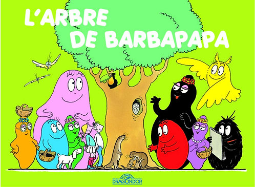 Dragon d'or-Arbre de Barbapapa