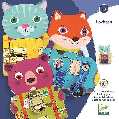Djeco - Locktou Activity Toy