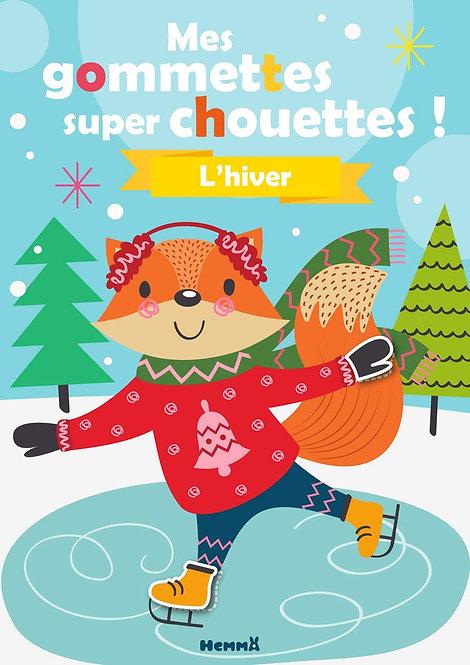 Hemma- Mes gommettes super chouettes - L'hiver