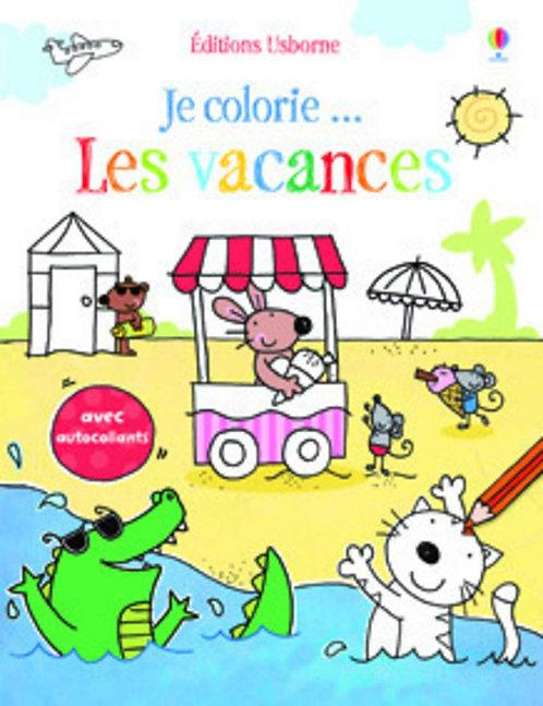 Usborne - Je colorie les vacances - French edition