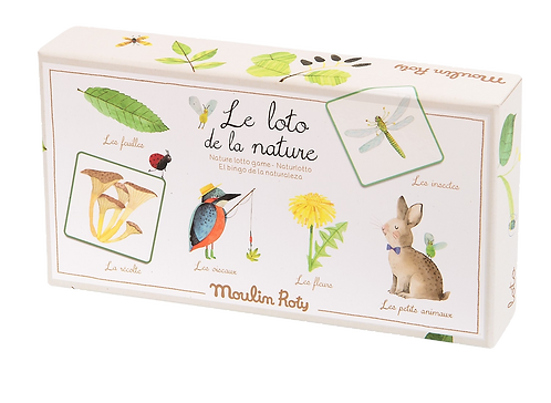Moulin Roty - Nature Lotto card board game