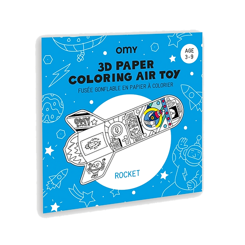 Omy - 3D paper coloring air toy