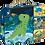 Thumbnail: Janod - 4 Progressive Dinosaur Jigsaw Puzzles 6, 9, 12 & 16 Piece