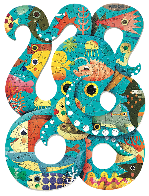Djeco - Puzz'art Octopus
