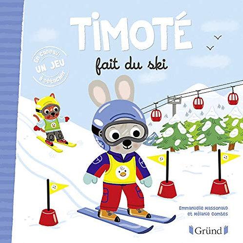Grund - Timoté fait du ski