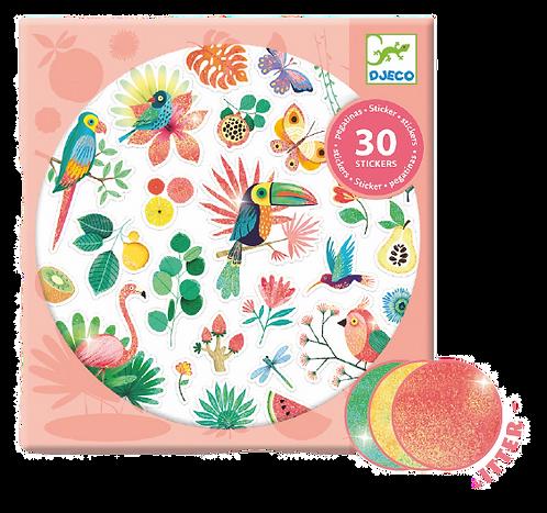 Djeco-Paradise stickers