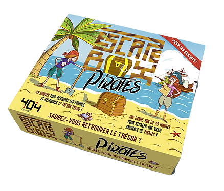 404 Editions - Escape box pirates