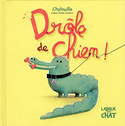 Langue au chat- Drole de chien chatouille