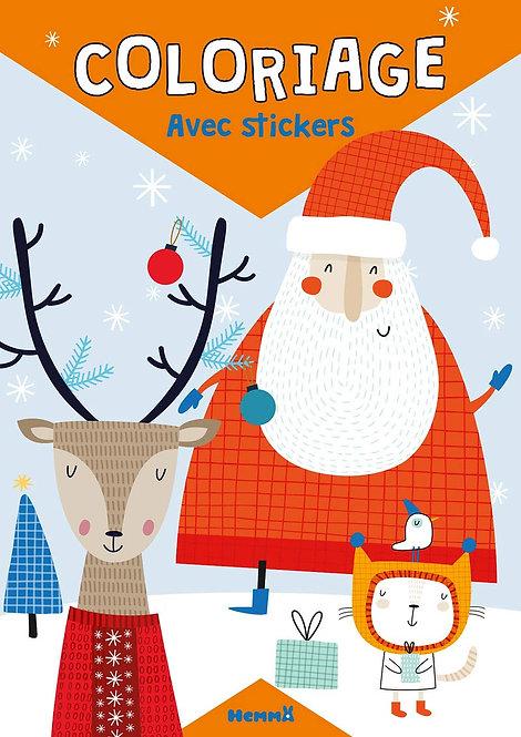 Hemma - Coloriage avec stickers