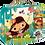 Thumbnail: Janod - 4 Progressive 4 Seasons Jigsaw Puzzles 6, 9, 12 & 16 Piece