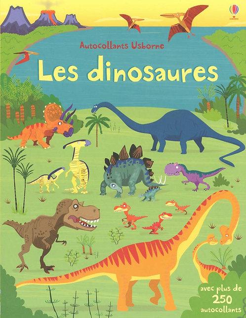 Usborne - Autocollants dinosaures