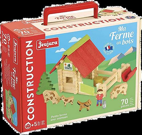 JEUJURA - Petite ferme en bois