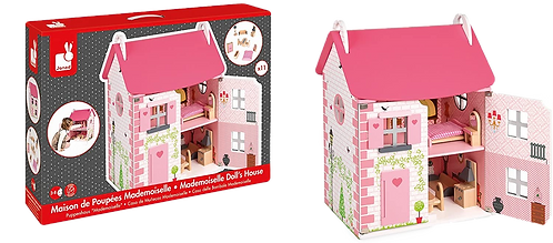 Janod - Mademoiselle Doll House