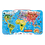 Thumbnail: Janod - Magnetic world map puzzle - English - 92 pieces (wood)